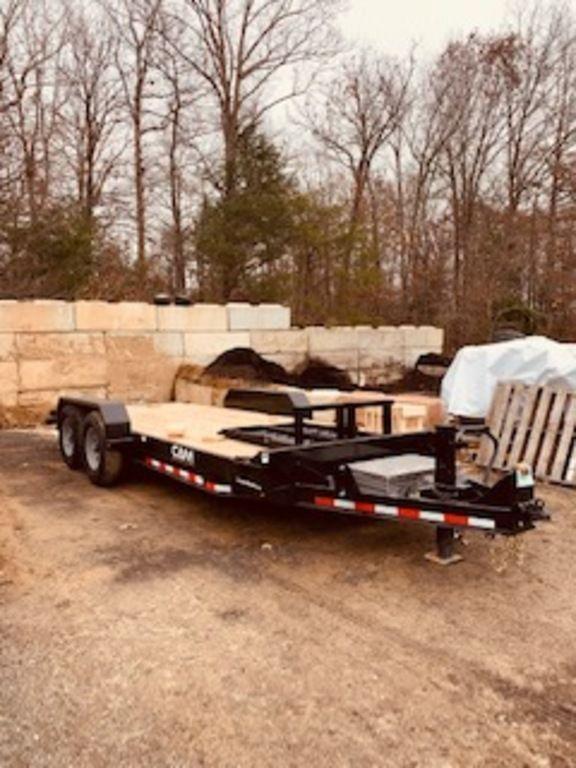 "2020 Cam Superline  82"" x 16'+2' 7-Ton Beavertail Equipment Trailer"
