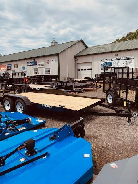 2021 Premier Trailers Inc. 7' X 16' Equipment Hauler