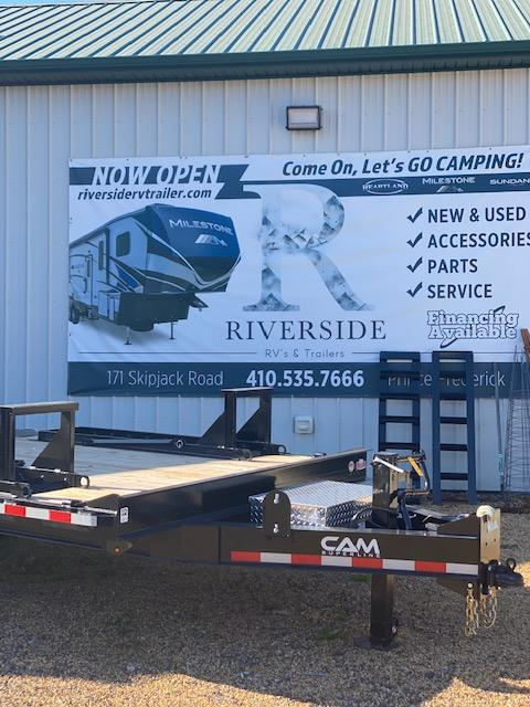 "2021 Cam Superline 8'.5"" X 16+4 Deckover Equipment Trailer"