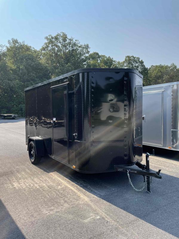 2021 Arising 6' x 12' Black Out Enclosed Cargo Trailer