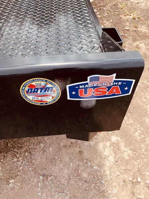 """2020 Cam Superline 82"""" X 18' Steel Deck Car / Racing Trailer"""