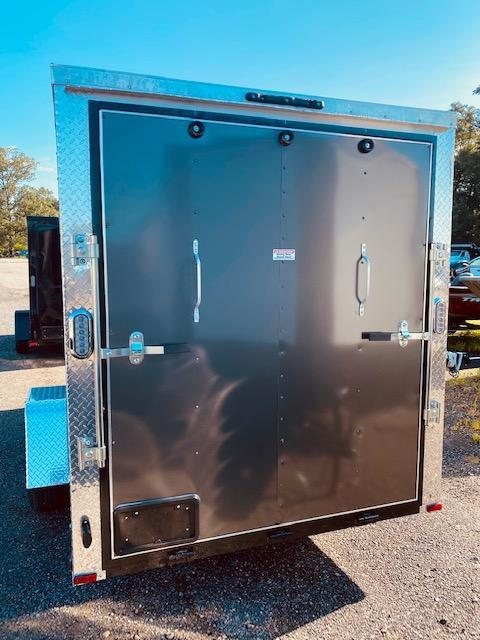 2021 Arising 6' X 12' Charcoal Enclosed Cargo Trailer