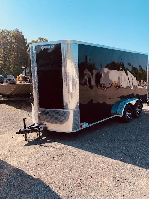 2020 Arising 7' x 16' V-Nose Enclosed Trailer