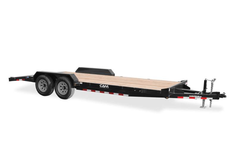 "2021 Cam Superline 82"" X 20' Car Hauler Wood Deck"
