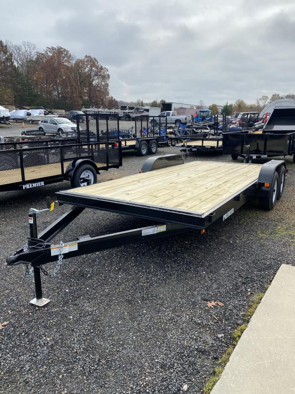 2021 Premier Trailers Inc. 7' x 18' Car Hauler Trailer