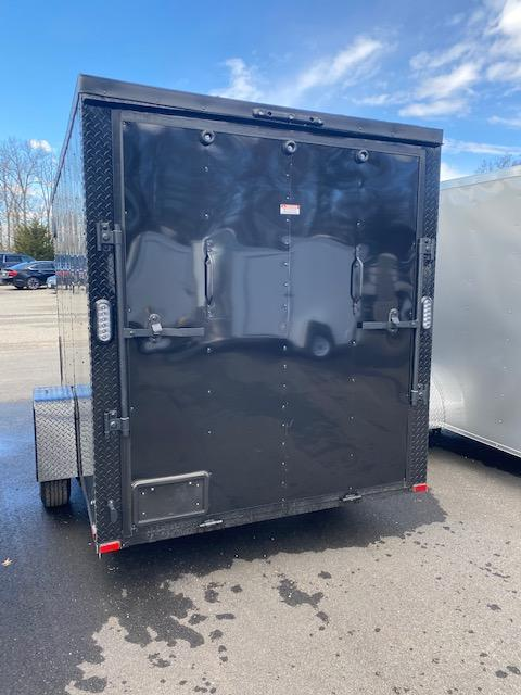 2021 Arising 6' X 12' Blacked Out Enclosed Cargo Trailer