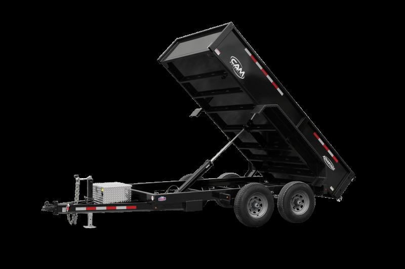 2022 Cam Superline 6' X 10 Low Advantage Dump Trailer Dump Trailer