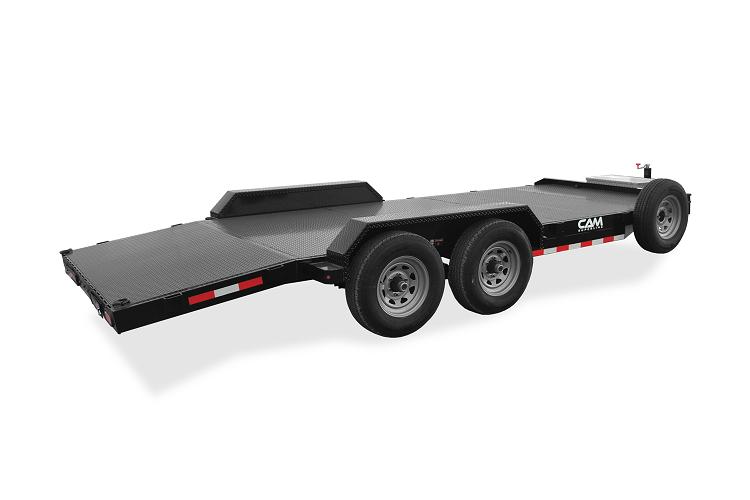 """2020 Cam Superline 82"""" x 18'' Flatbed Trailer Wood Deck"""
