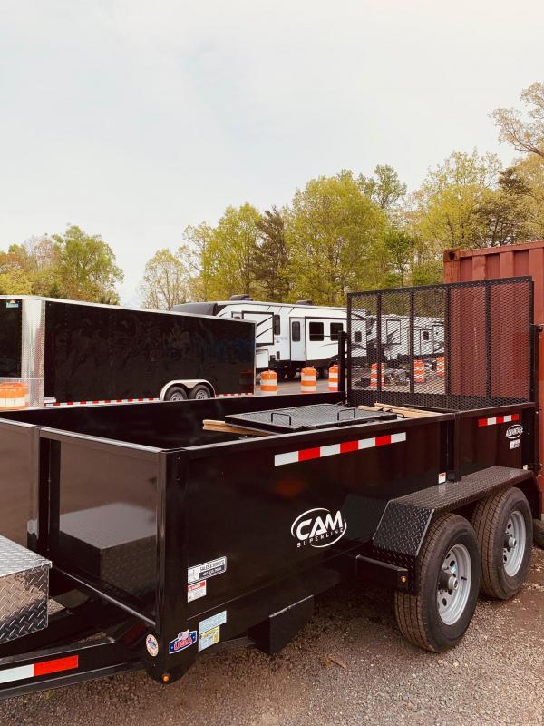 2020 Cam Superline 6' x 12' Low Profile Dump w/Landscape Gate Dump Trailer