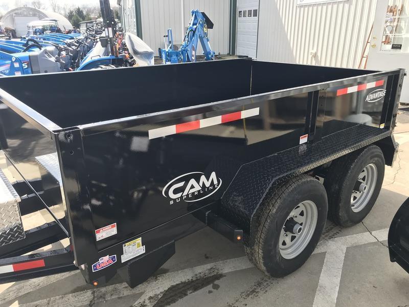2019 Cam Superline 6' x 12' Low Pro Dump Trailer