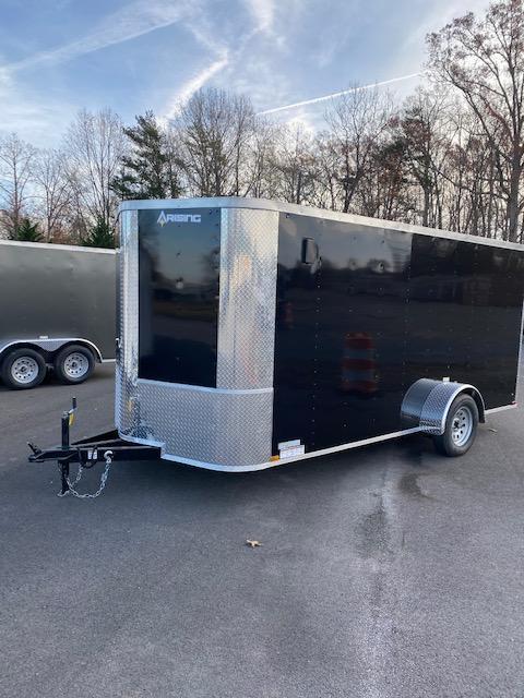 2021 Arising 7' x 14 Single Axle Enclosed Cargo Trailer