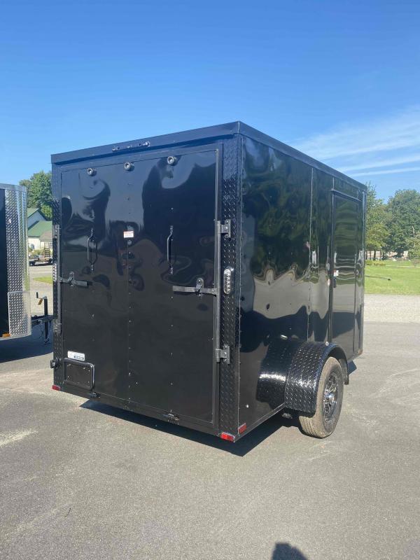 2021 Arising 6' X 10' Blackout Enclosed Cargo Trailer
