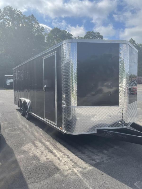 """2021 Arising 8'.5"""" x 20' Black Enclosed Cargo Trailer"""