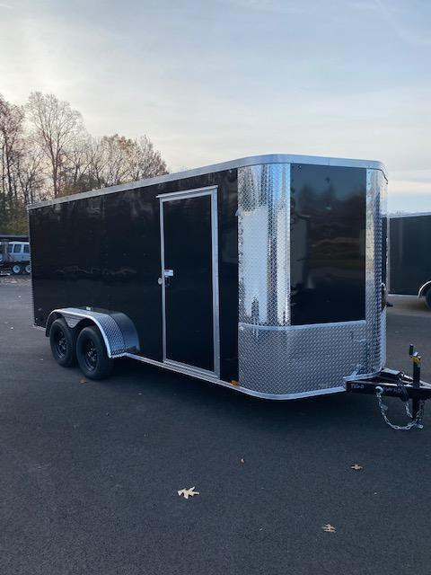 2021 Arising 7' X 16' Tandem Axel Enclosed Cargo Trailer