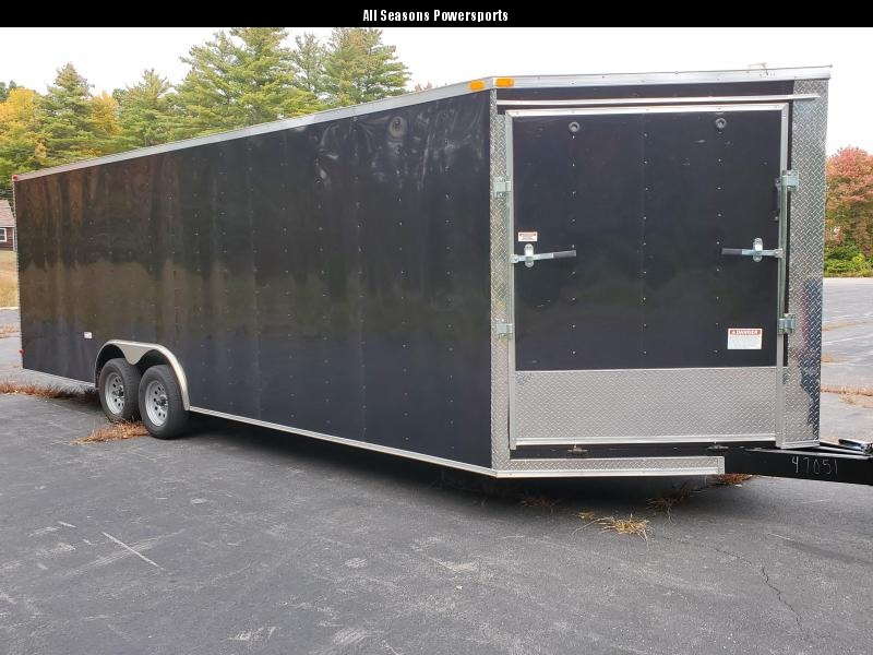 2021 8.5x24 Enclosed Trailer with extra height