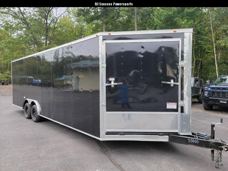 2022 SGC 8.5x24 Enclosed Trailer with extra height