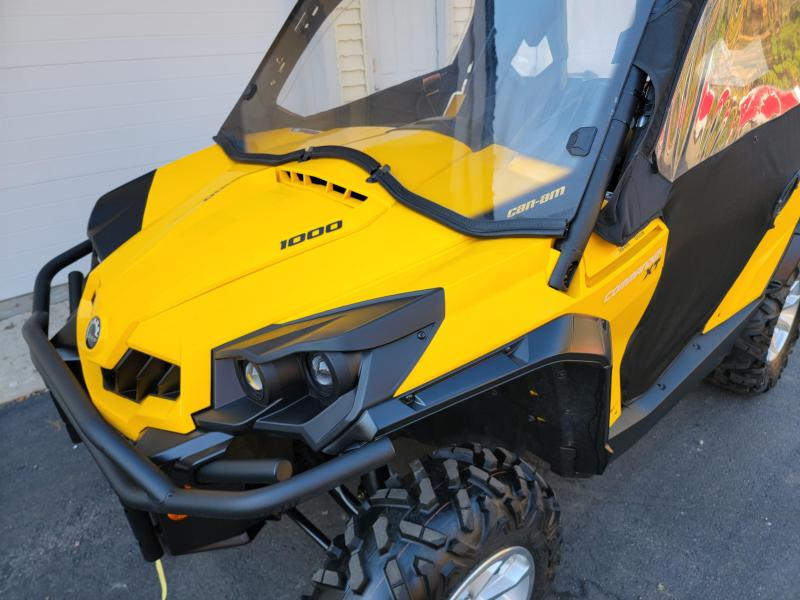2017 Can Am Commander 1000 XT with NEW PLOW