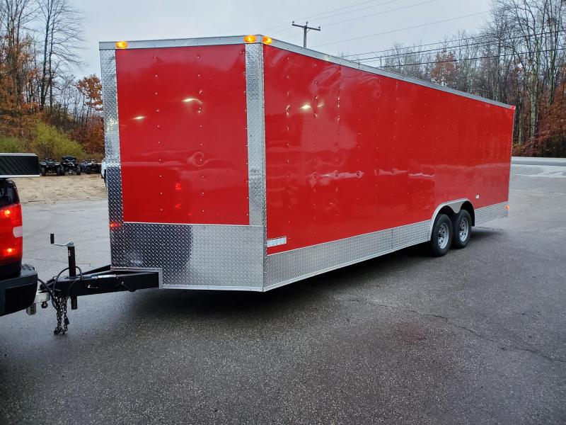 2021 8.5x24 SGAC Enclosed Trailer with Extra height