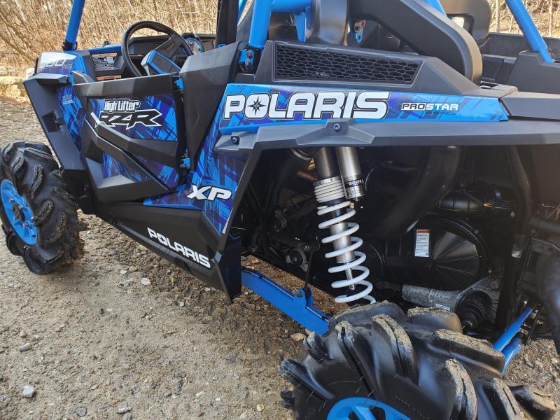 2017 Polaris RZR XP High Lifter only 271 miles