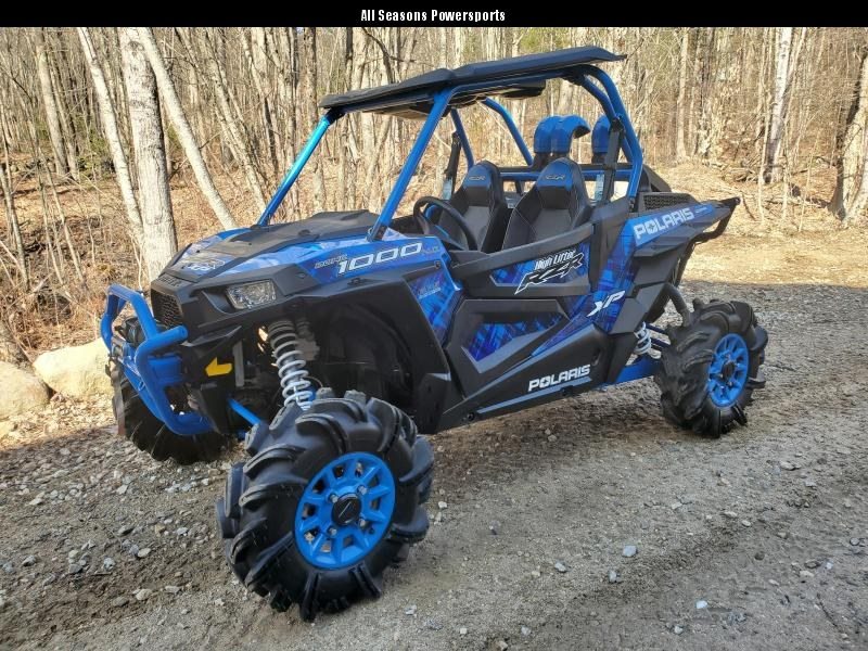 2017 Polaris RZR XP High Lifter only 271 miles