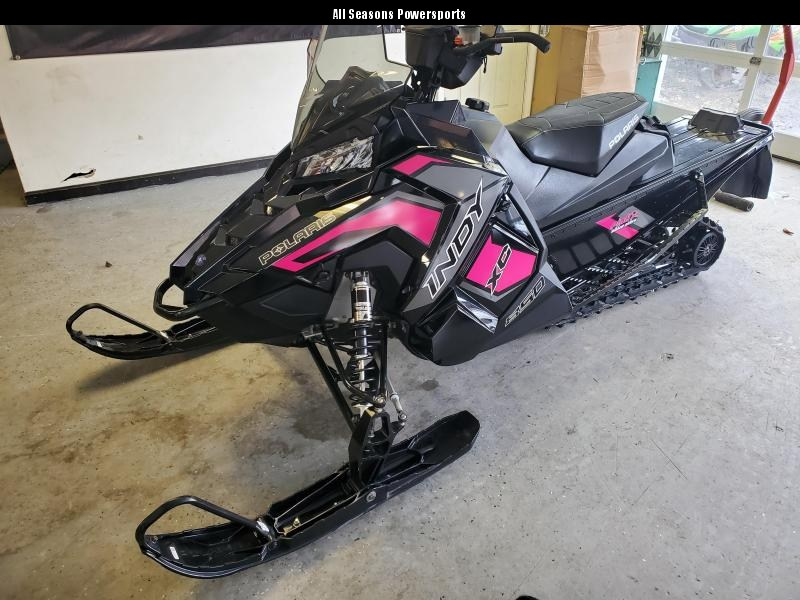 2019 Polaris Indy XC 850 Pink Ribbon Edition