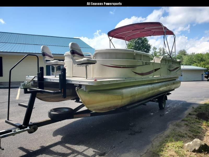 2006 Starcraft Limited 24 FT Pontoon Boat with trailer