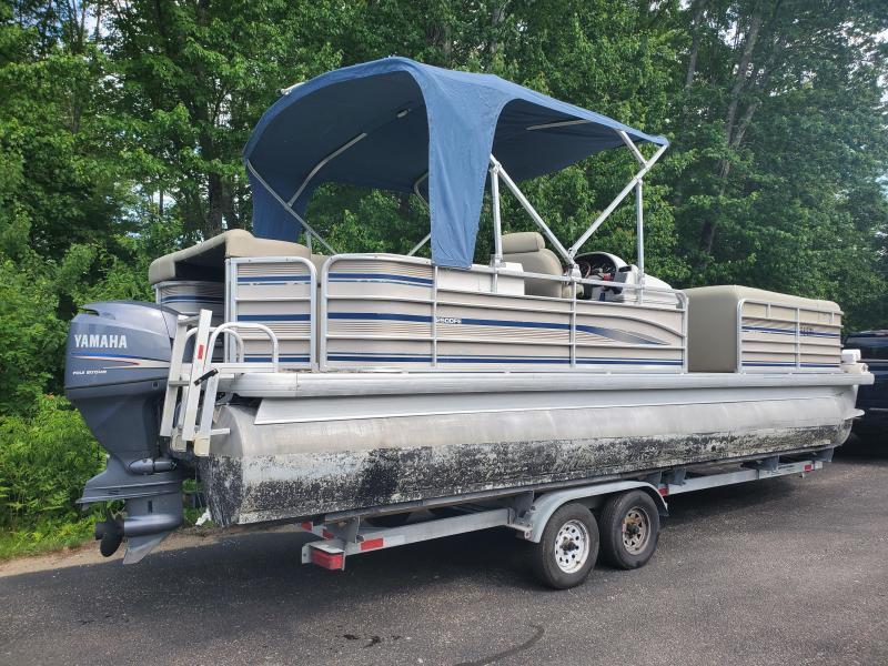 2003 Godfrey Sanpan 25ft Pontoon Boat 115 HP Yamaha with trailer