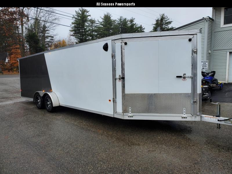 2020 EZ Hauler 7.5x24 Aluminum Snowmobile Trailer