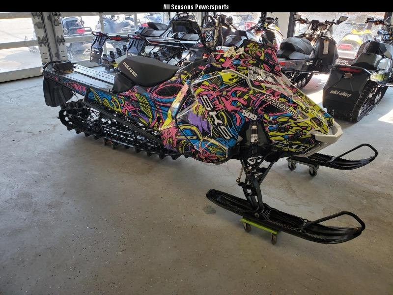 2018 Polaris 800 SKS 155 SC under factory warranty