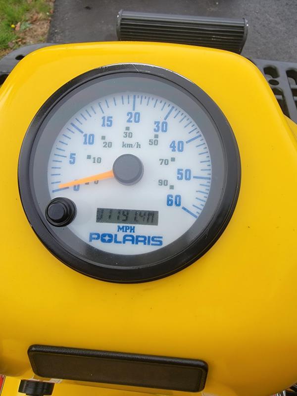 2004 Polaris Sportsman 500 HO only 719 miles