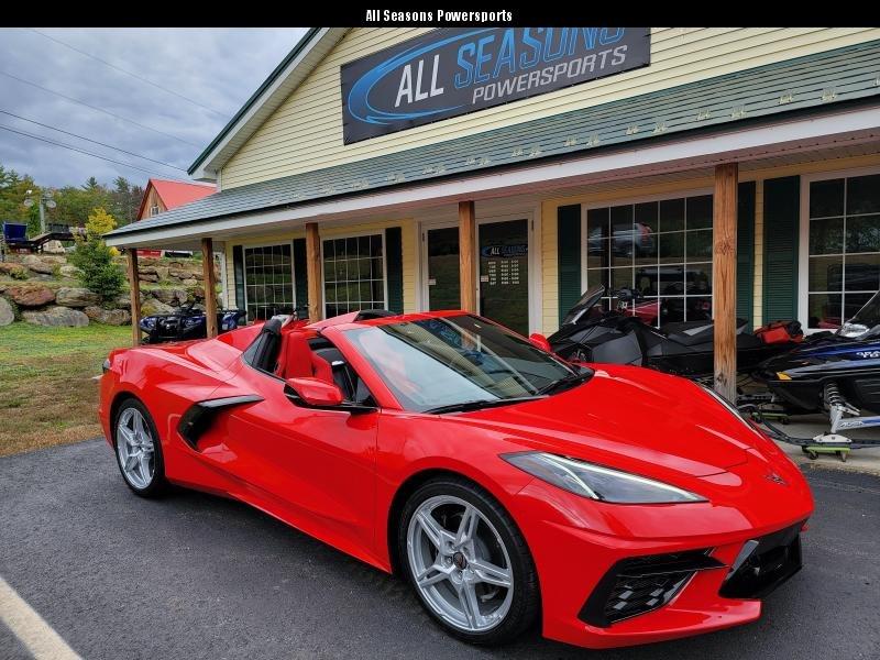 2021 Chevrolet Corvette Convertible 300 miles