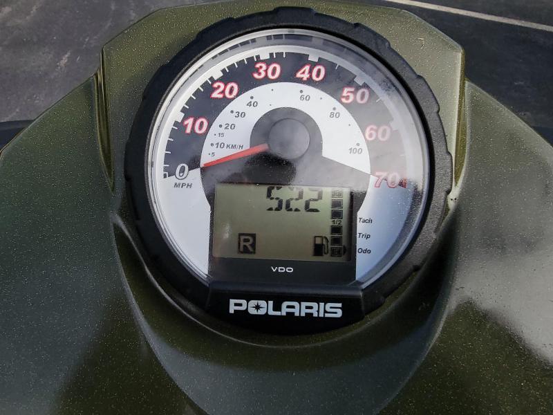 2011 Polaris Sportsman 500 with Plow 522 miles