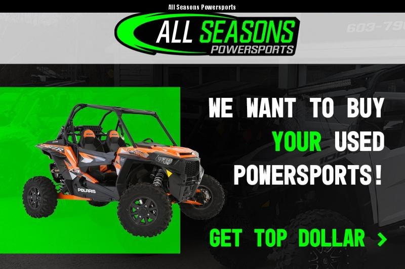 BUYING ALL POWERSPORTS! CASH PAID AT PICK UP!