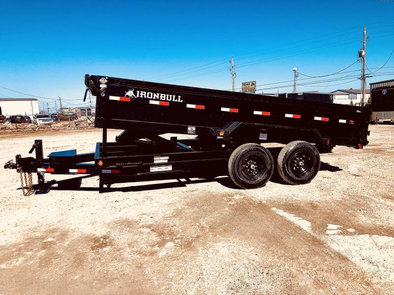 2021 Iron Bull 83X14 DUMP TRAILER Dump Trailer
