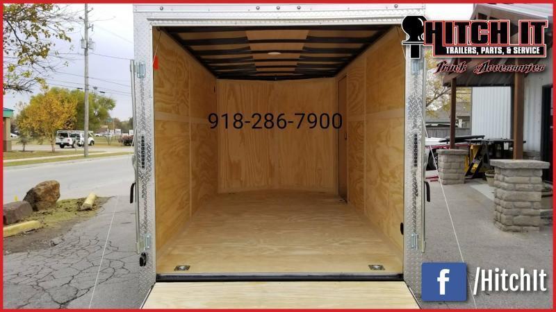 !!!COMING SOON!!! 2021 Continental Cargo 7 x 16 + v-nose  Enclosed Cargo Trailer