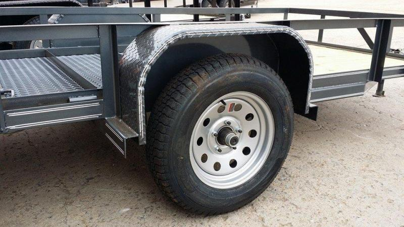 !!!COMING SOON!!! 2020 Tiger 5 x 10 Black Utility Trailer w ramp