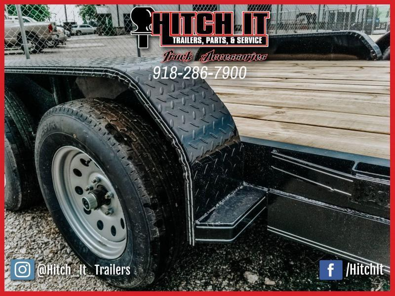 !!!COMING SOON!!! 2020 Tiger 83 x 18 Flatbed Car Hauler Trailer Brakes Bulldog 3500k axles slide in ramps