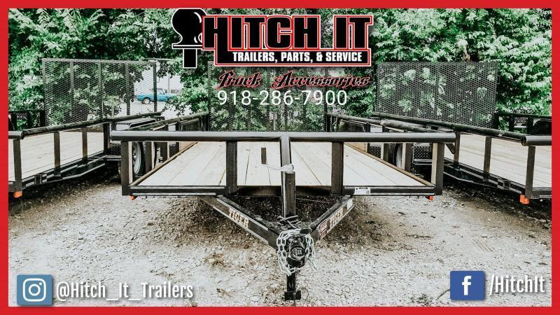 2020 Tiger 83 x 16 Pipetop Utility Trailer w/ Ramp Gate Tandem 3500#