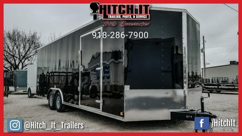 2021 Continental Cargo 8.5 X 20 Enclosed Cargo Trailer Tandem 3500#