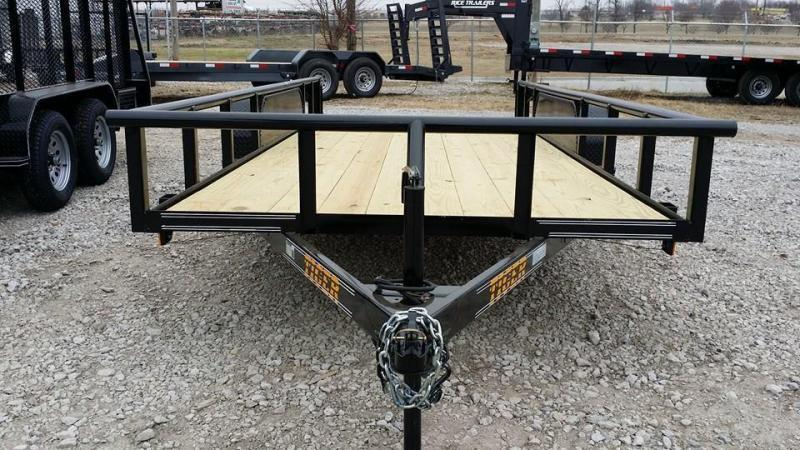 !!!COMING SOON!!! 2020 Tiger 77x16 Pipetop Utility Trailer w/ SLIDE IN RAMPS Utility Trailer