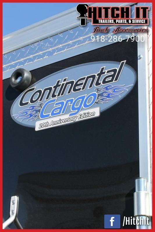 2021 Continental Cargo 6 X 12 + v-nose  Enclosed Cargo Trailer
