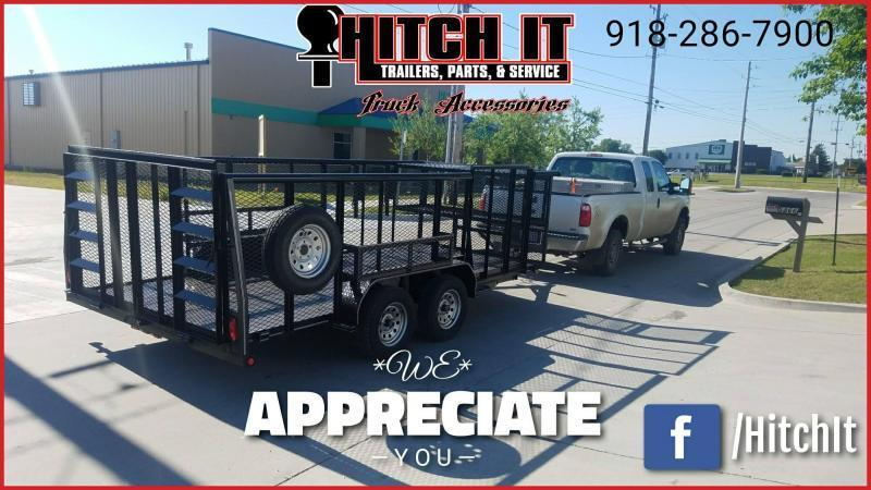 !!!COMING SOON!!! 2020 Tiger 83 x 16 Landscape Trailer w/ HD TRACTOR Gate