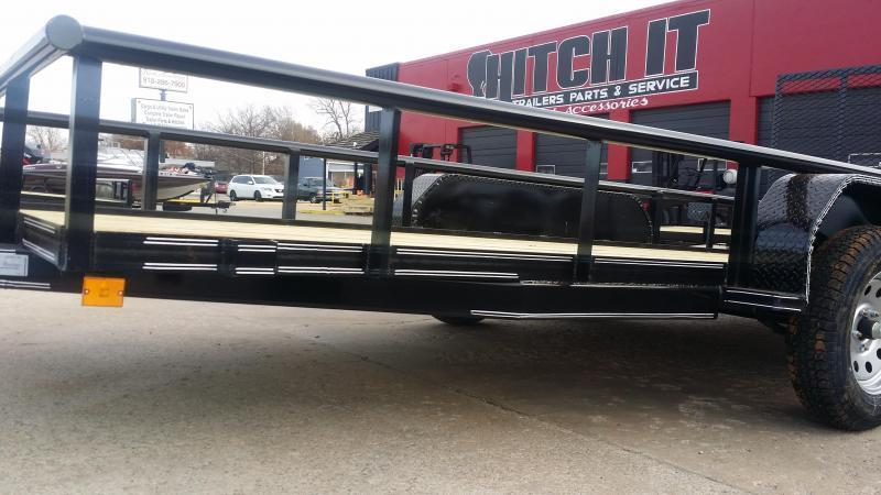 !!!COMING SOON!!! 2020 TIGER 77x16 Pipetop Utility Trailer w/ Rampgate
