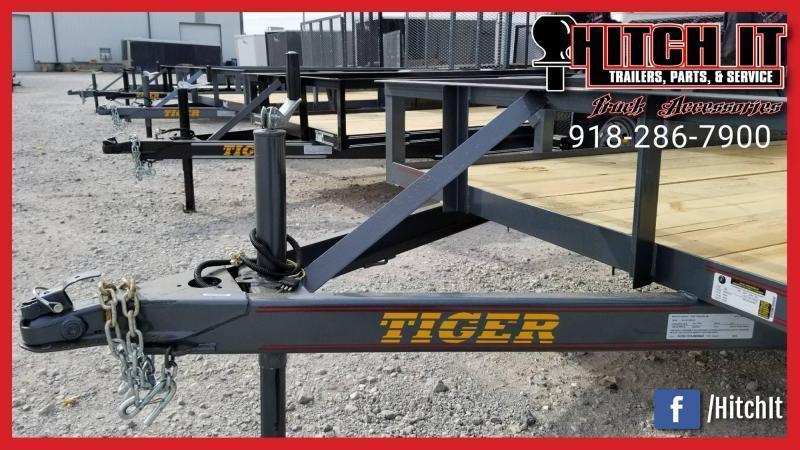 !!!COMING SOON!!! 2020 Tiger 77 X 12 Single Axle Utility Trailer w/ Ramp Gate 3500 lb axles