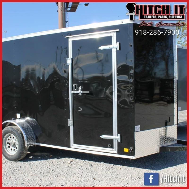2021 Continental Cargo 6 X 12 + v-nose  Enclosed Cargo Trailer