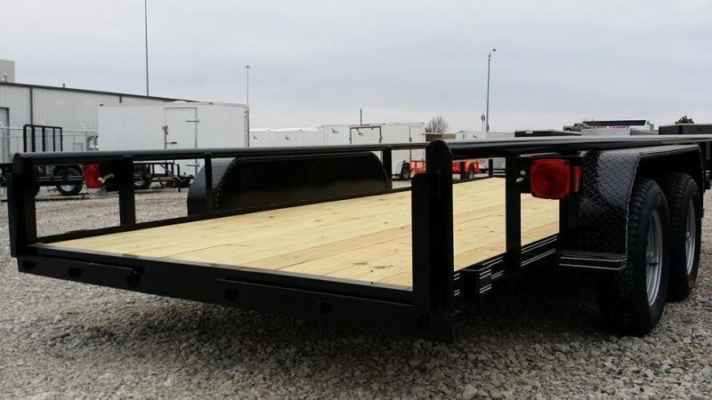 !!!COMING SOON!!! 2020 Tiger 83x16 Pipetop Utility Trailer w/ Rampgate
