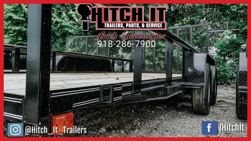 2020 Tiger 83 x 16 Pipetop Utility Trailer w/ Ramp Gate Tandem 3500#