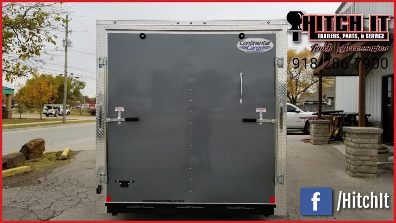 **COMING SOON**  2021 Continental Cargo 7 x 14 + v-nose  Enclosed Cargo Trailer