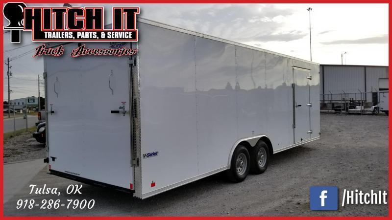 **COMING SOON**  Continental Cargo 8.5 X 24 Enclosed Cargo Trailer Tandem 5200#
