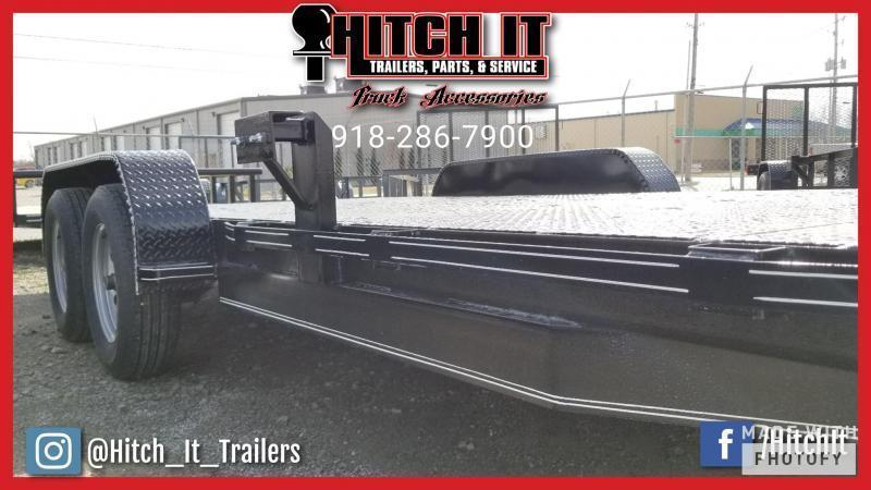 !!!COMING SOON!!! 2020 Tiger  83 x 18 Steel Floor Flatbed Car Hauler Trailer